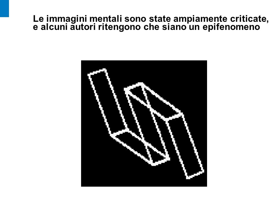 Le immagini mentali sono state ampiamente criticate, e alcuni autori ritengono che siano un epifenomeno