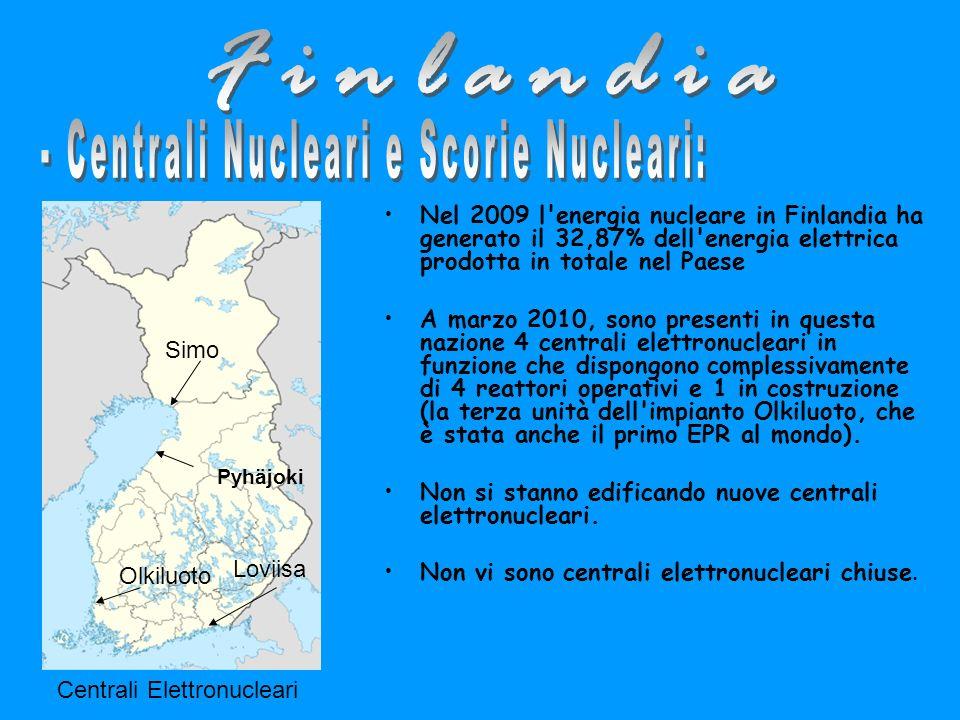 - Centrali Nucleari e Scorie Nucleari: