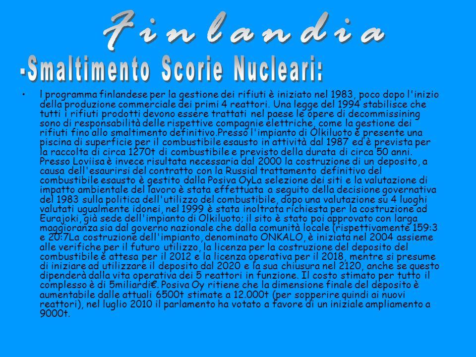 -Smaltimento Scorie Nucleari: