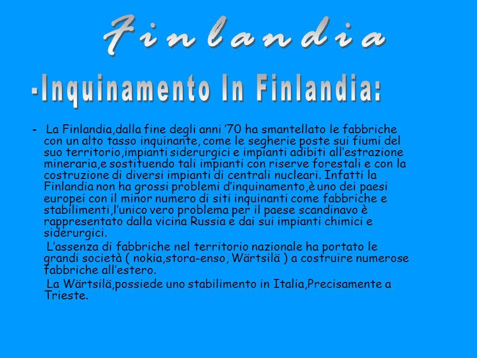 -Inquinamento In Finlandia: