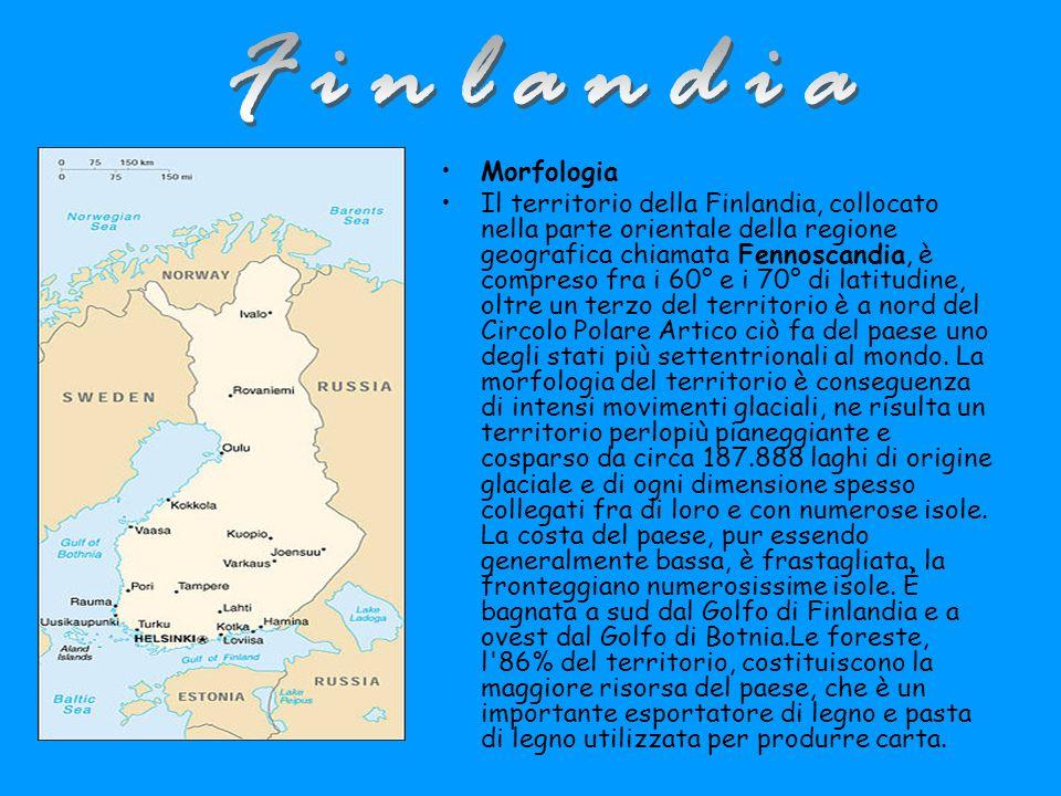Finlandia Morfologia.