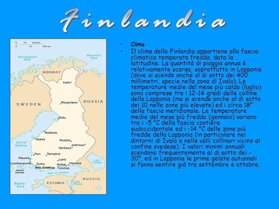 Finlandia Clima.