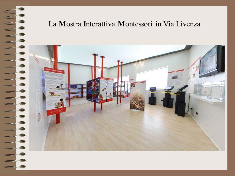La Mostra Interattiva Montessori in Via Livenza