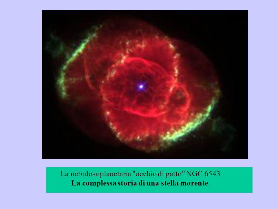 La nebulosa planetaria occhio di gatto NGC 6543