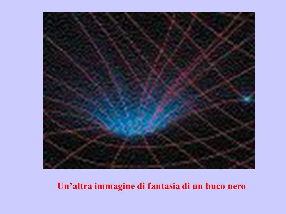 Un'altra immagine di fantasia di un buco nero