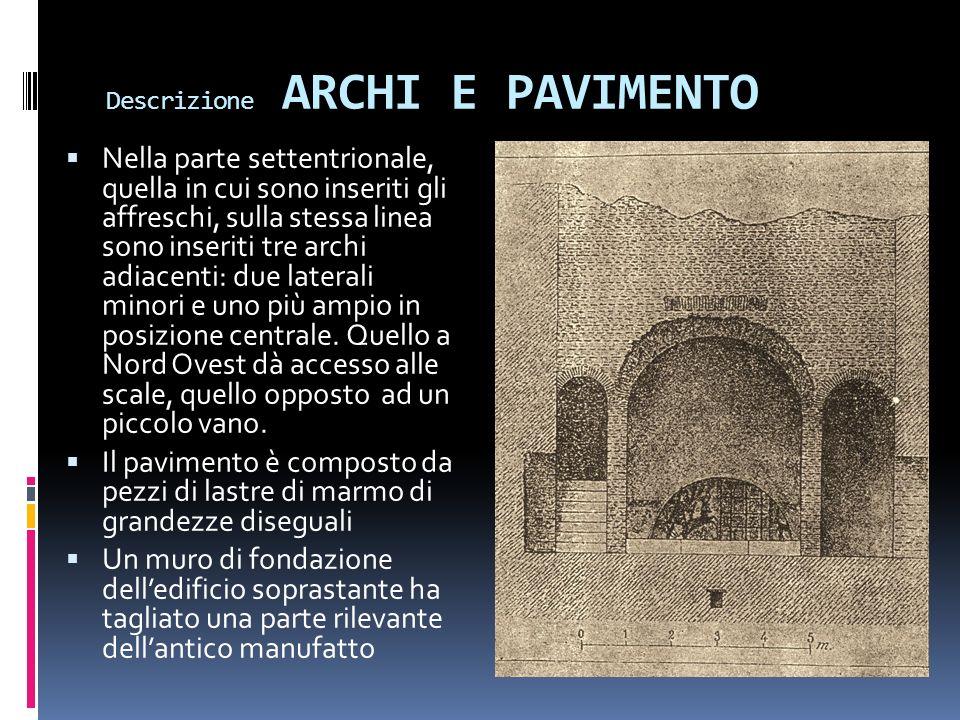 Descrizione ARCHI E PAVIMENTO