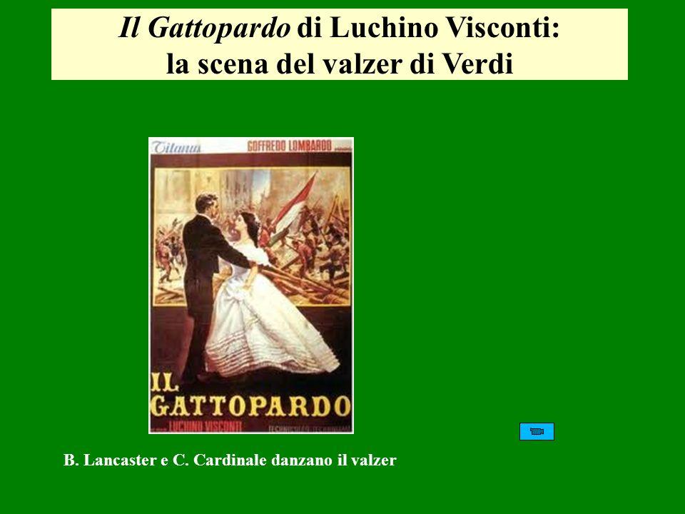 Il Gattopardo di Luchino Visconti: la scena del valzer di Verdi