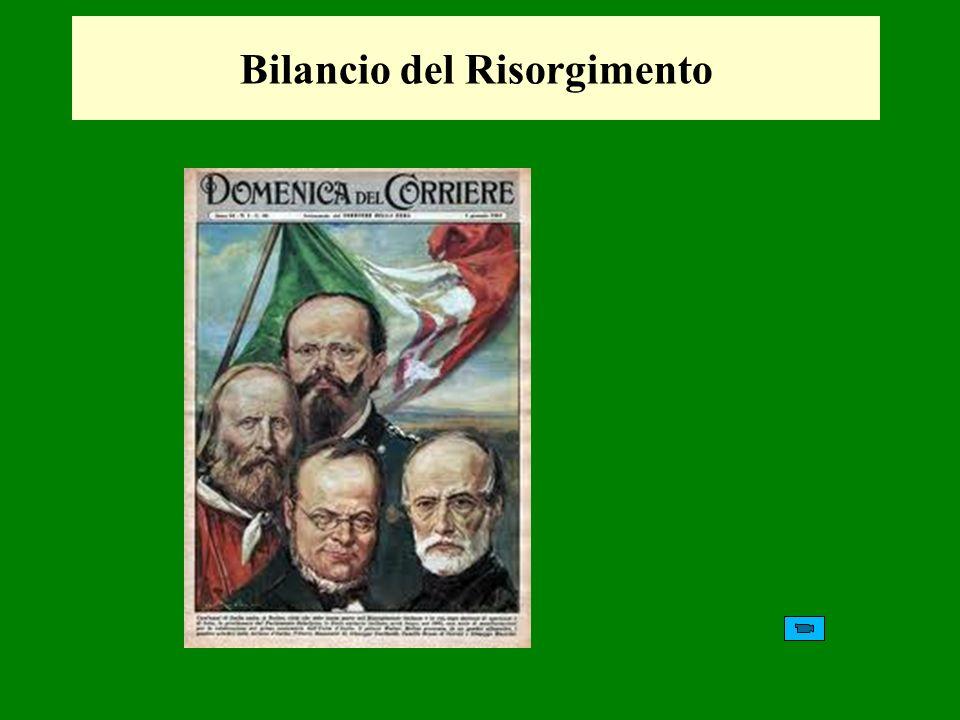 Bilancio del Risorgimento