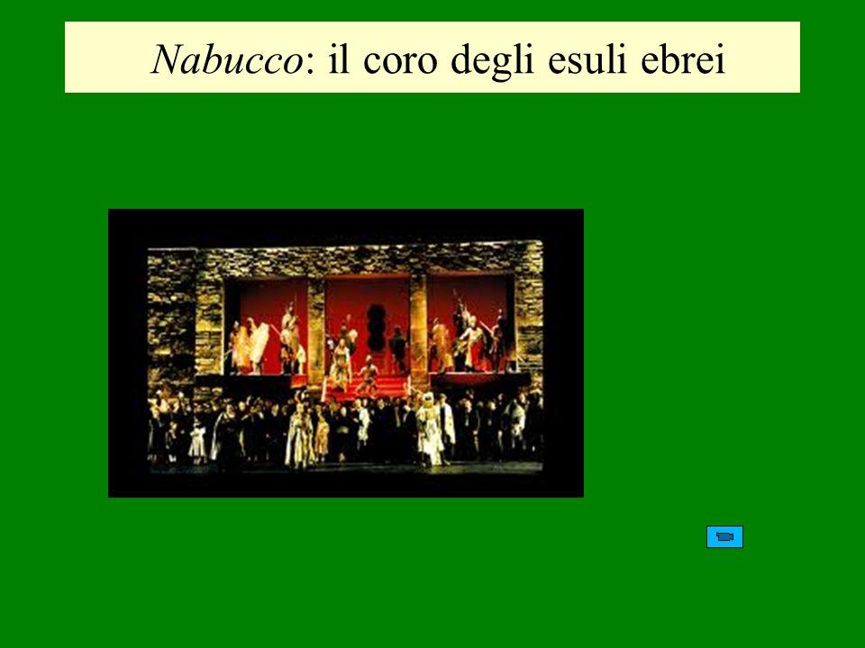 Nabucco: il coro degli esuli ebrei