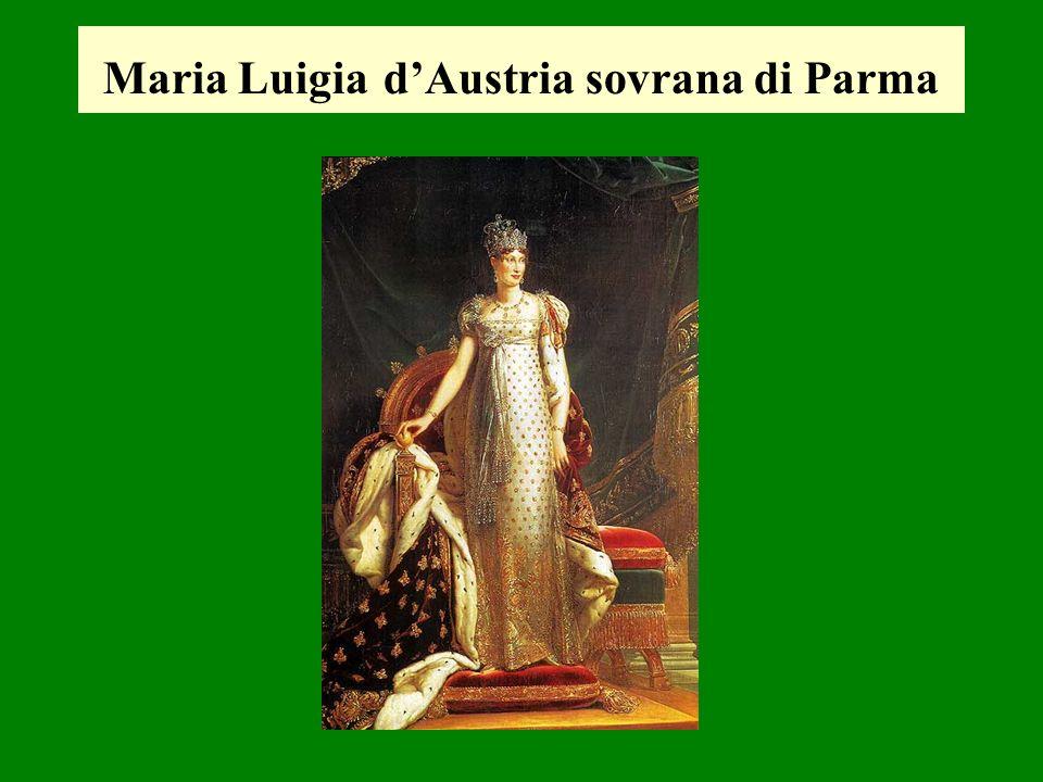 Maria Luigia d'Austria sovrana di Parma