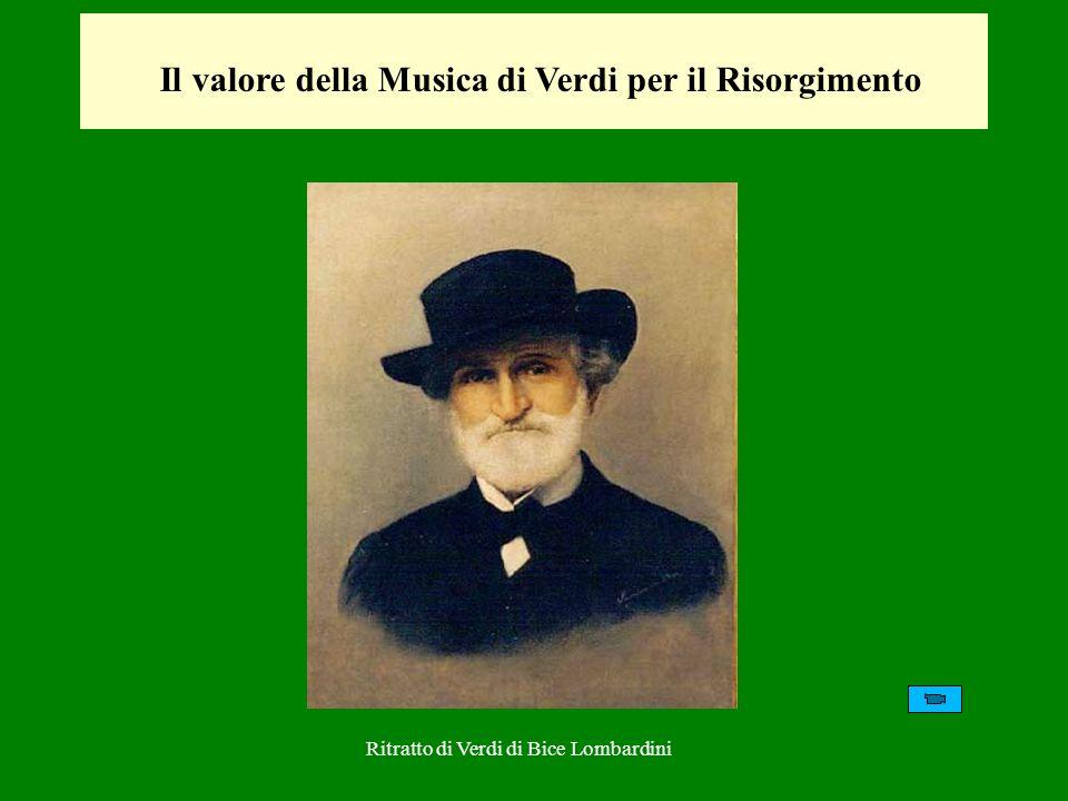 Il valore della Musica di Verdi per il Risorgimento