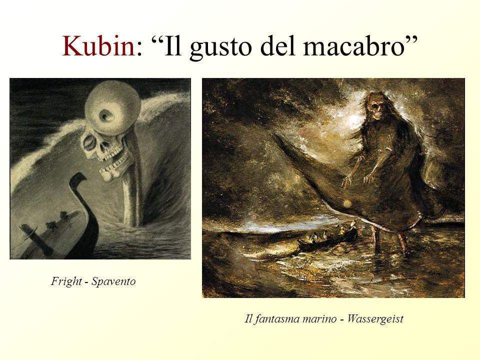 Kubin: Il gusto del macabro