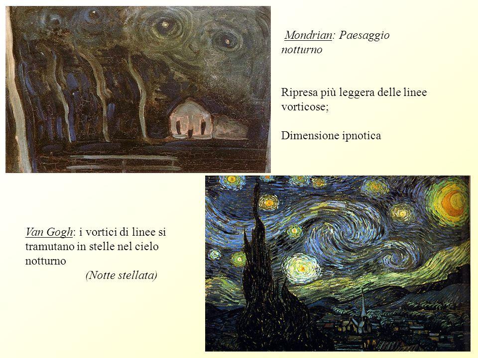Mondrian: Paesaggio notturno