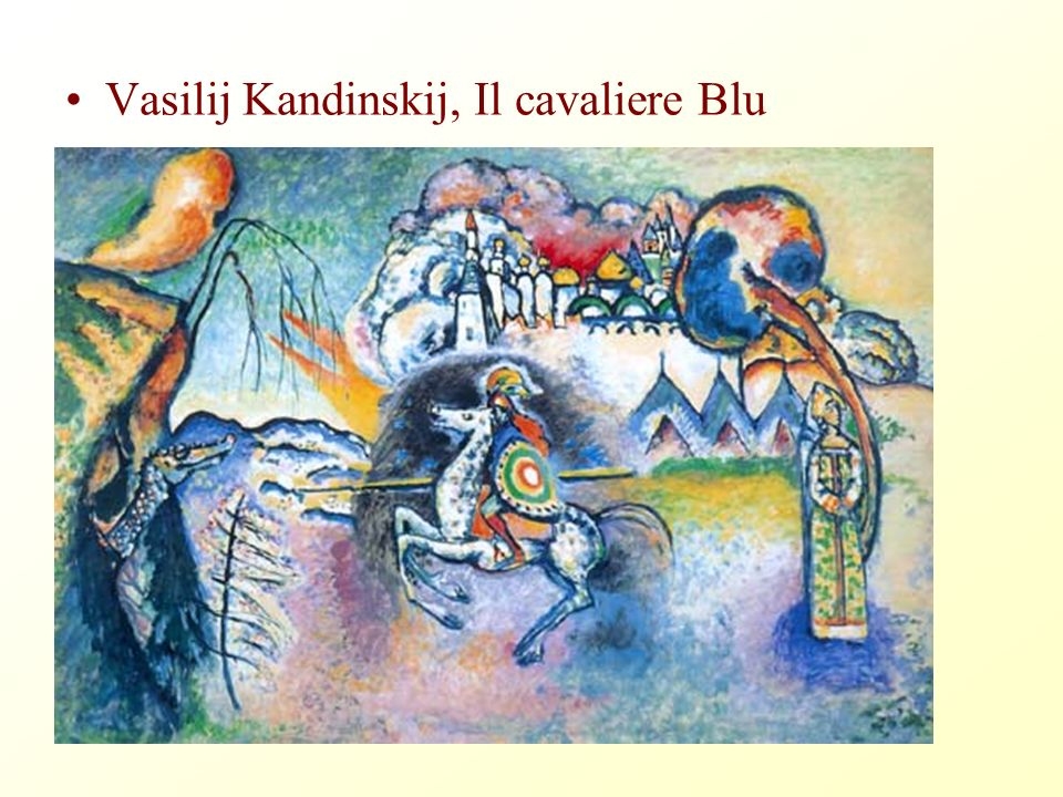 Vasilij Kandinskij, Il cavaliere Blu