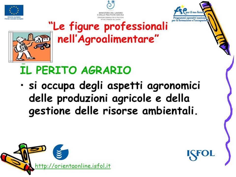 Le figure professionali nell'Agroalimentare