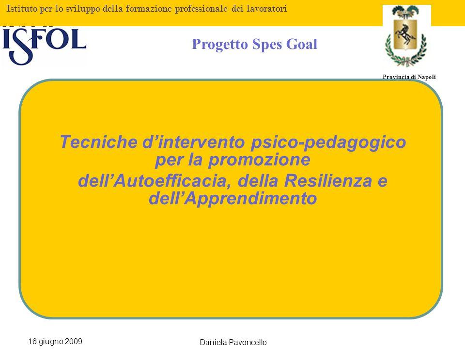 Tecniche d'intervento psico-pedagogico per la promozione