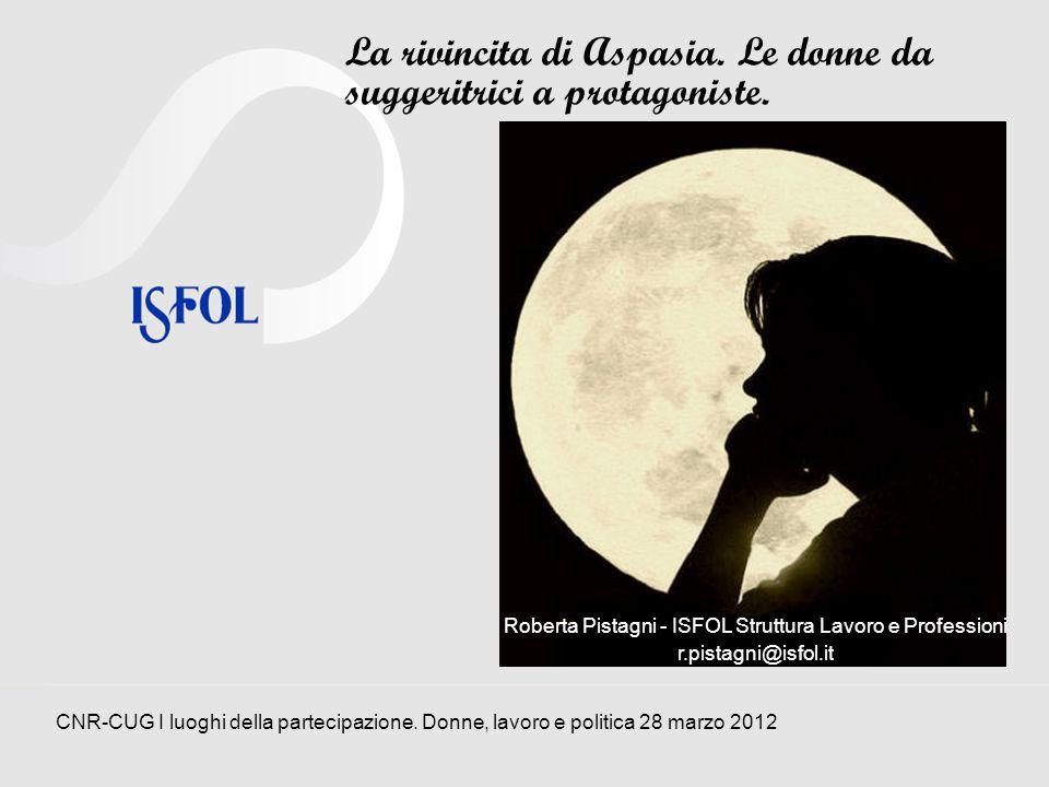 Roberta Pistagni - ISFOL Struttura Lavoro e Professioni