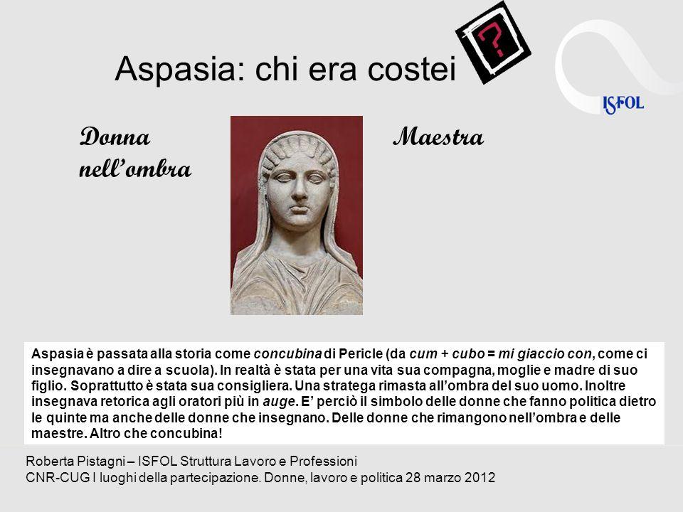 Aspasia: chi era costei