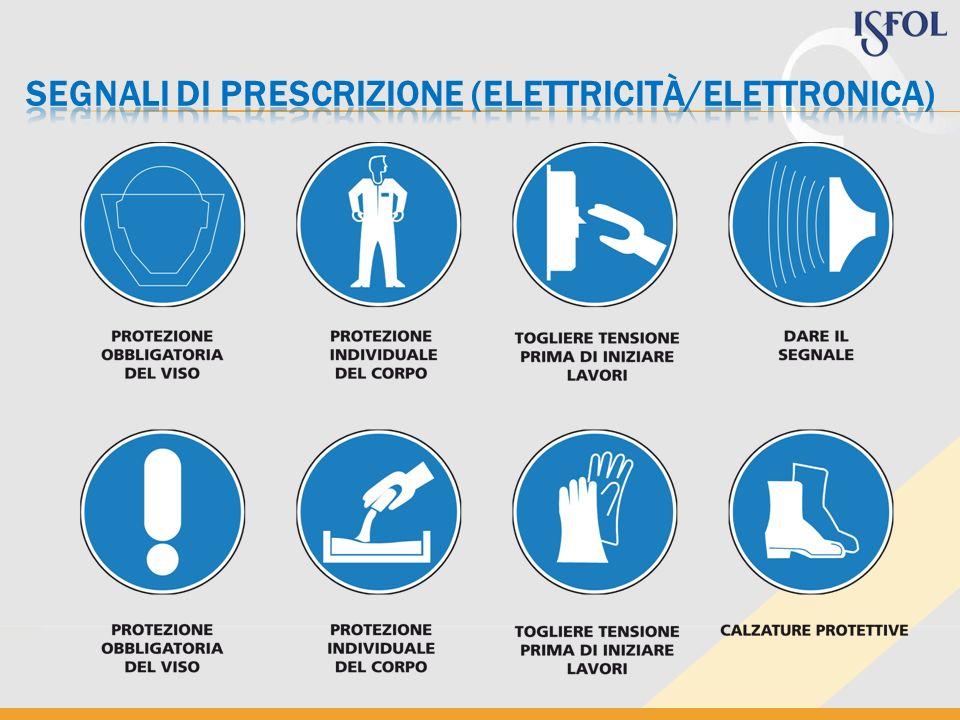 segnali di prescrizione (elettricità/elettronica)
