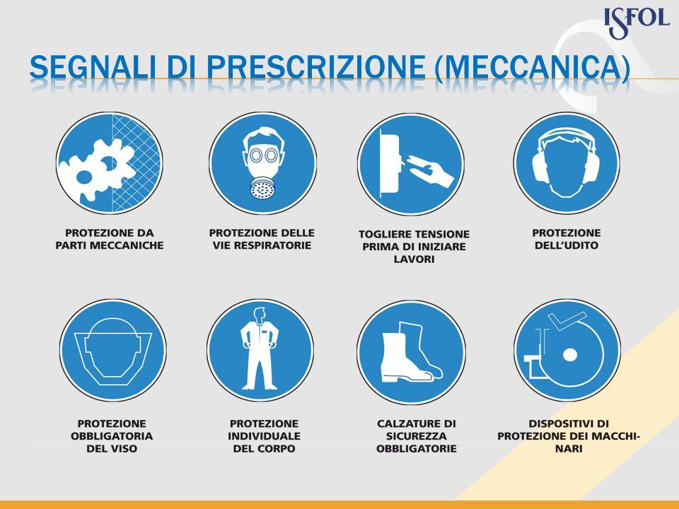 segnali di prescrizione (meccanica)