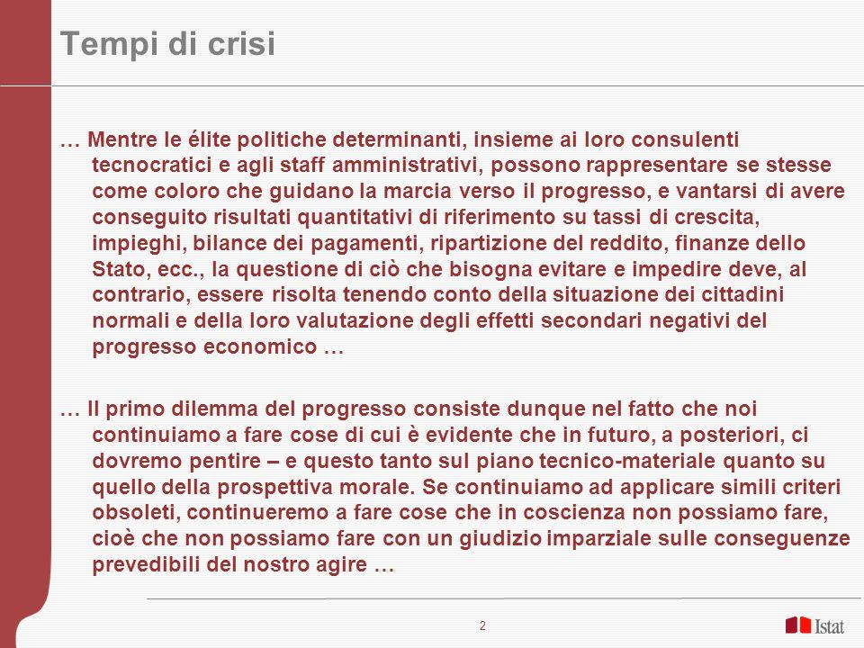 Tempi di crisi