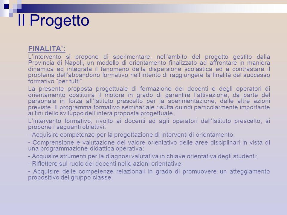 Il Progetto FINALITA':