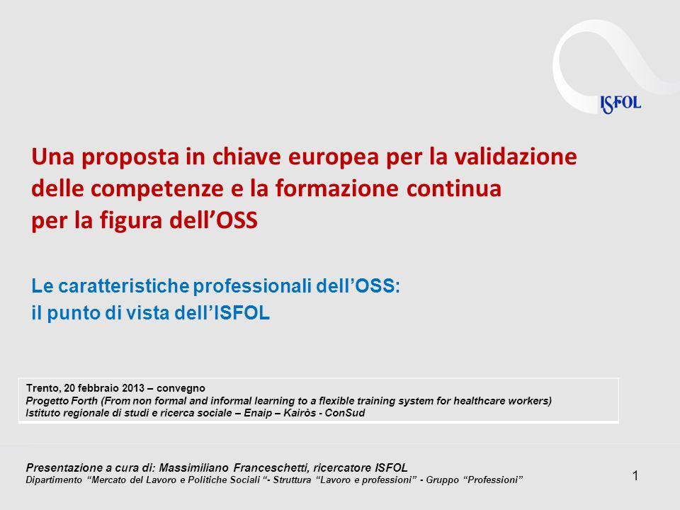 Una proposta in chiave europea per la validazione