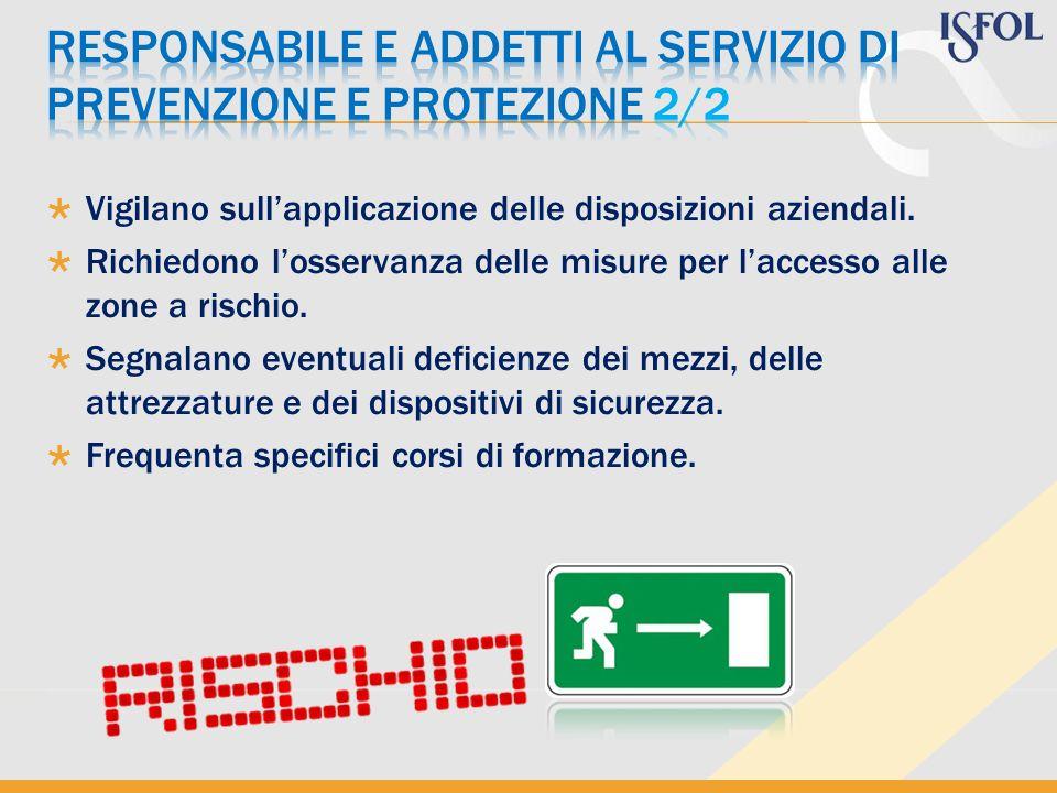 RESPONSABILE E ADDETTI AL SERVIZIO DI PREVENZIONE E PROTEZIONE 2/2