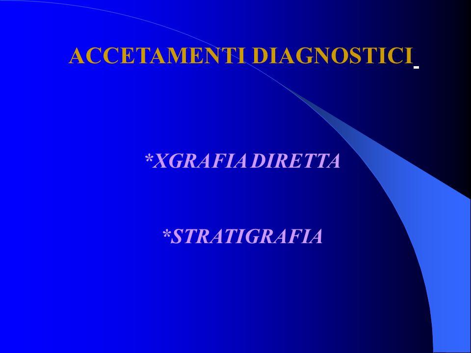ACCETAMENTI DIAGNOSTICI