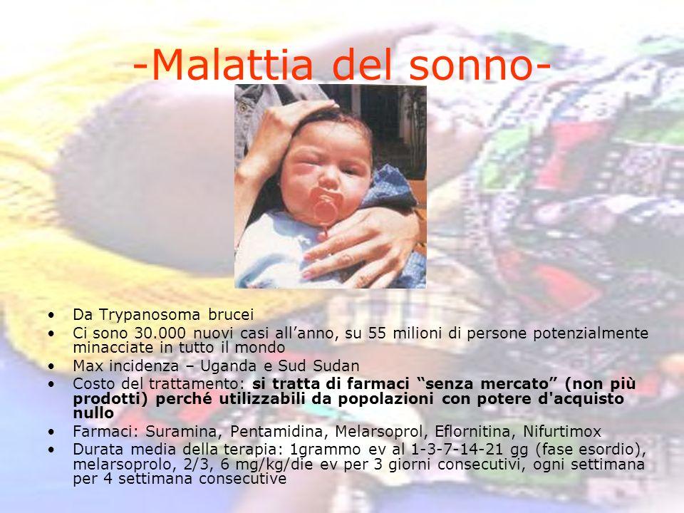 -Malattia del sonno- Da Trypanosoma brucei