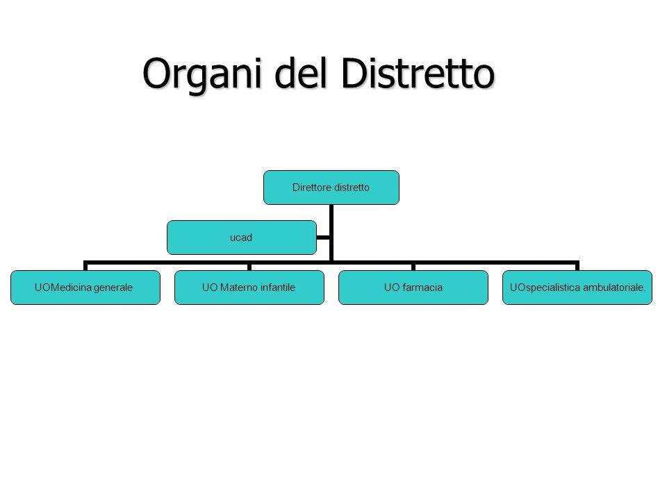 Organi del Distretto