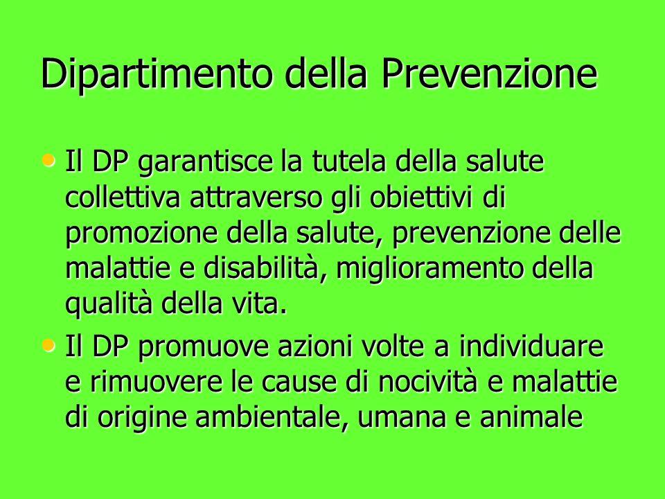 Dipartimento della Prevenzione
