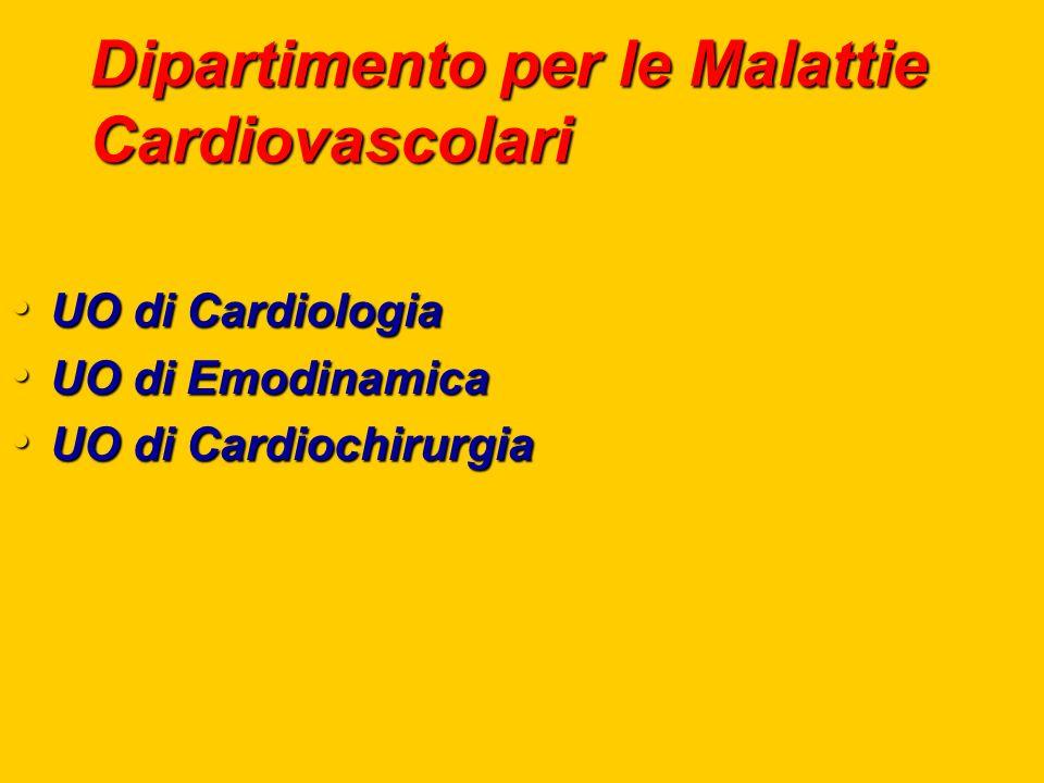 Dipartimento per le Malattie Cardiovascolari