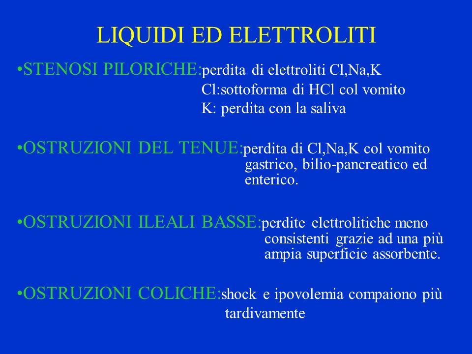 LIQUIDI ED ELETTROLITI