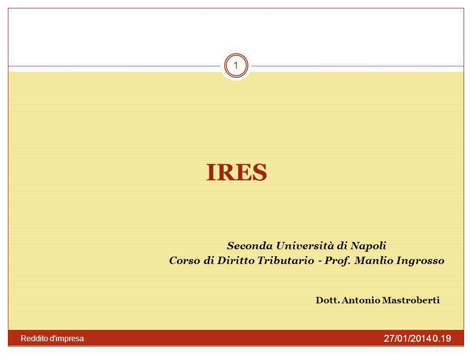 IRES Seconda Università di Napoli