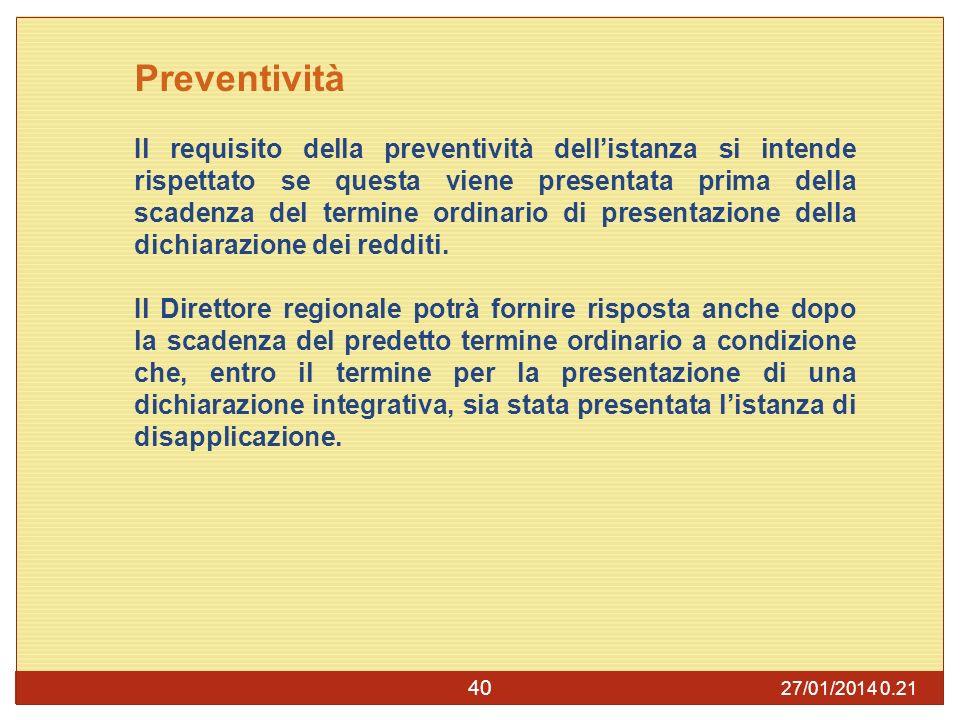 Preventività