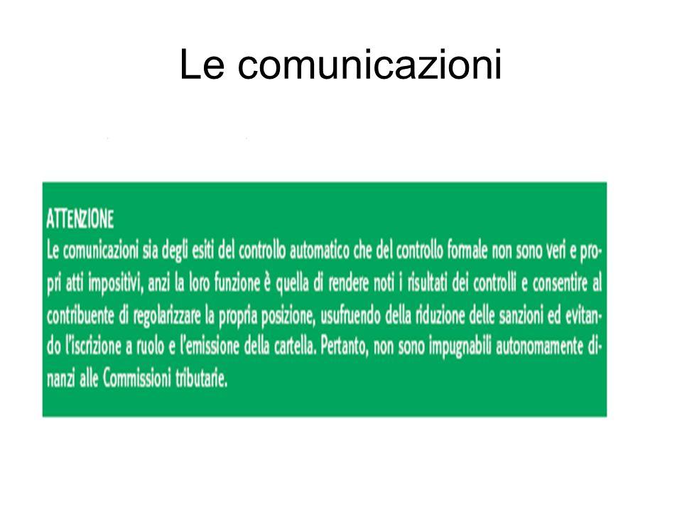 Le comunicazioni