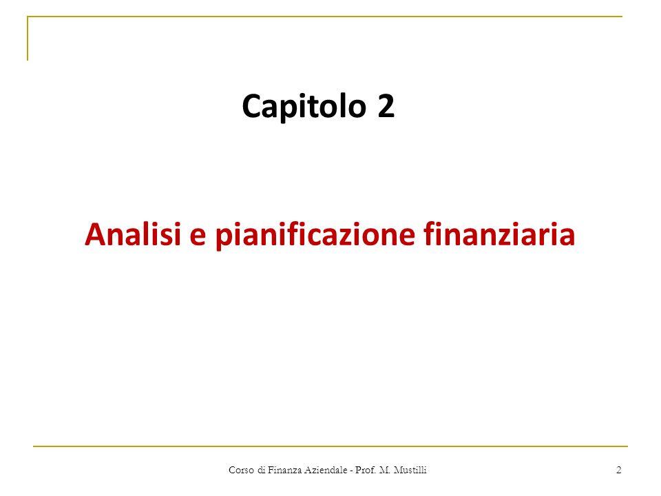 Analisi e pianificazione finanziaria