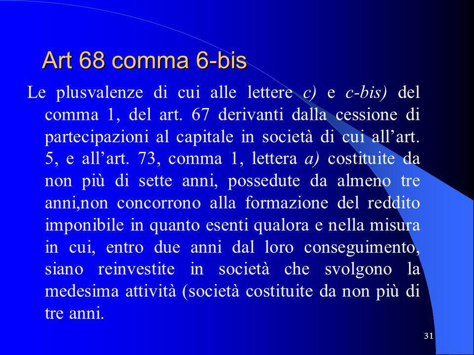 Art 68 comma 6-bis