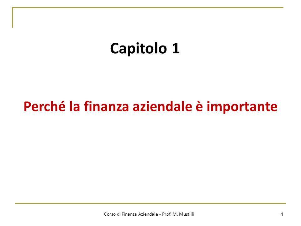 Perché la finanza aziendale è importante