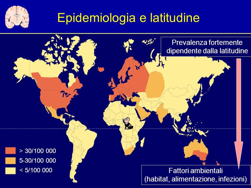 Epidemiologia e latitudine