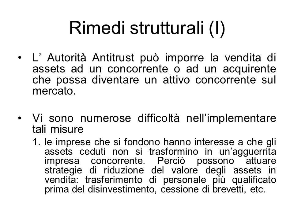 Rimedi strutturali (I)