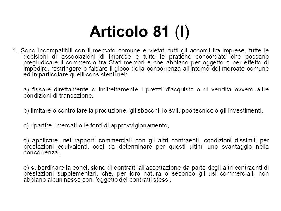 Articolo 81 (I)