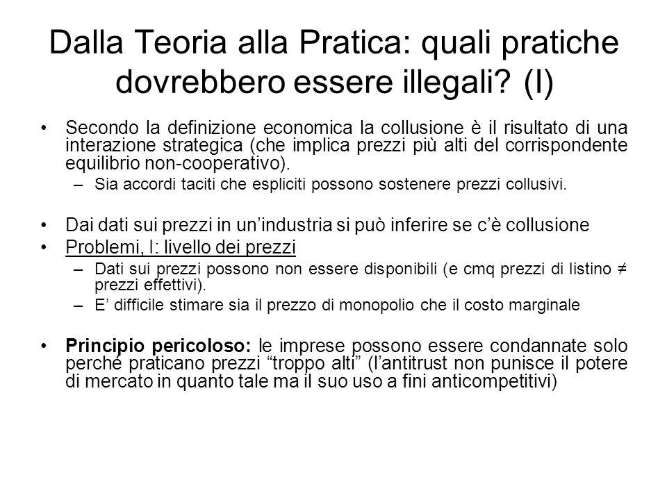 Dalla Teoria alla Pratica: quali pratiche dovrebbero essere illegali