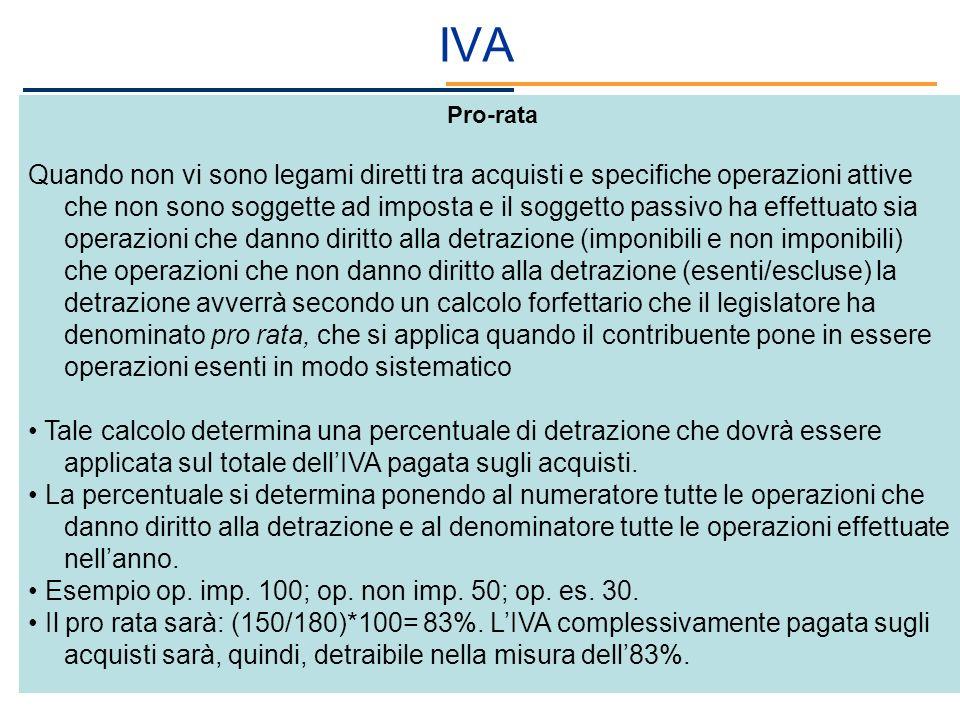 IVA Pro-rata.