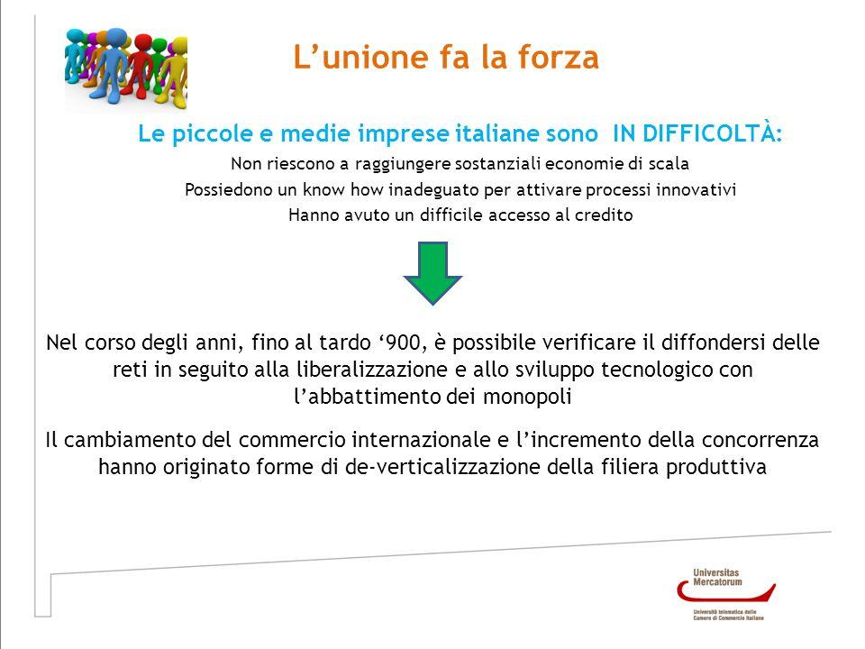Le piccole e medie imprese italiane sono IN DIFFICOLTÀ: