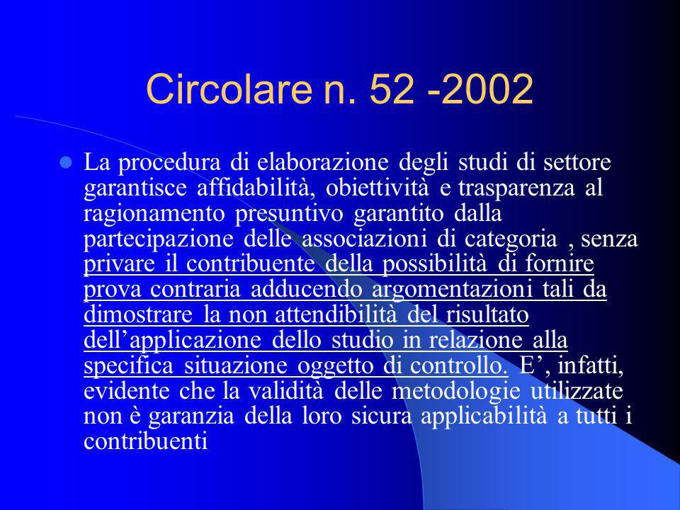 Circolare n. 52 -2002