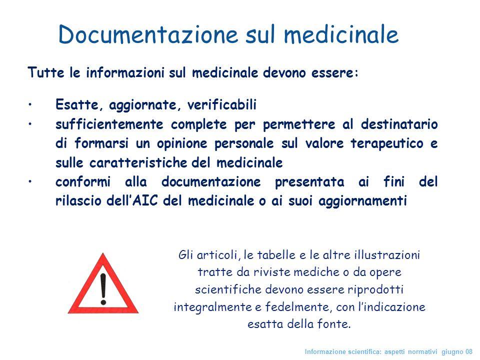 Documentazione sul medicinale