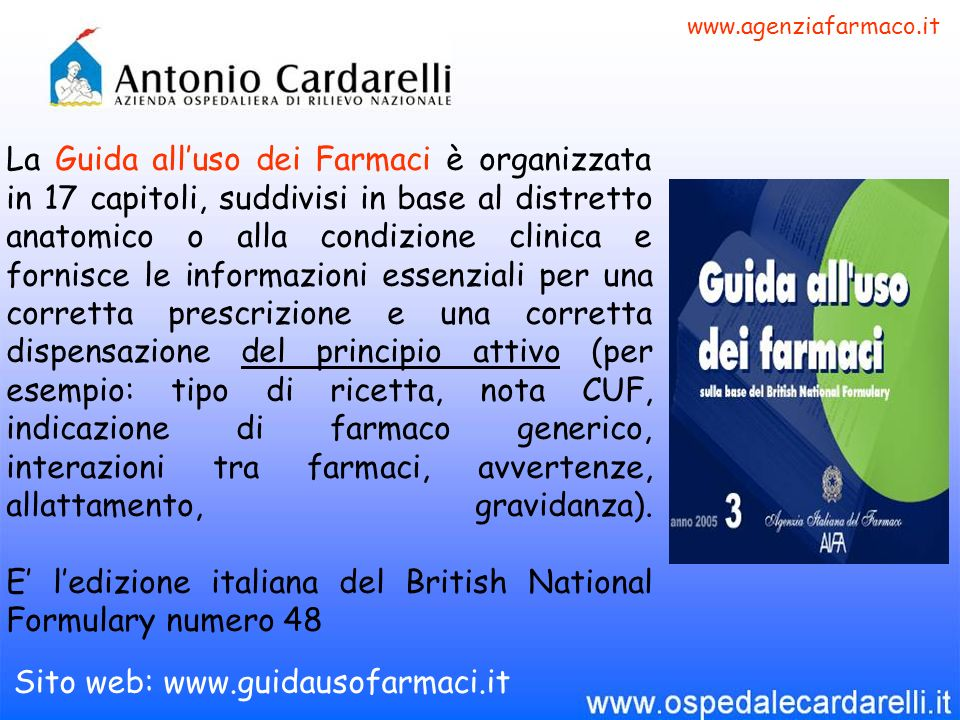 www.agenziafarmaco.it