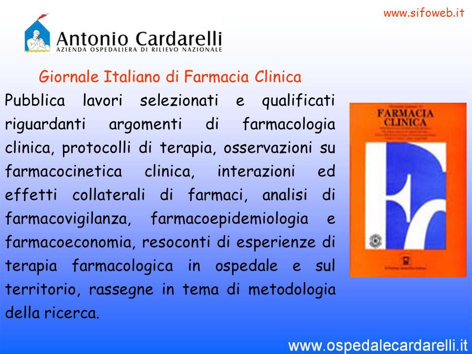 Giornale Italiano di Farmacia Clinica